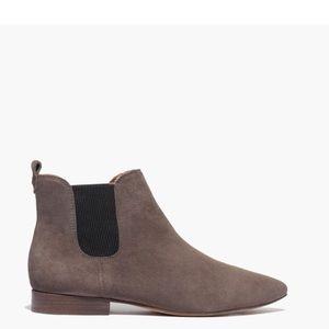 Madewell Nico Boot Grey